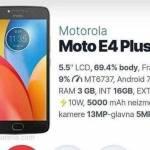 Moto E4 Plus